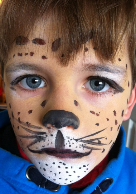 Face painting for boys parties